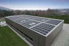 180 kWp Photovoltaik Anlage bei der Firma MEBIS in 66386 St. Ingbert