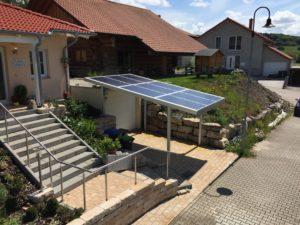 Solarcarport in Gersheim Saarland