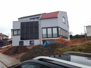 Photovoltaik Fassade im Saarland