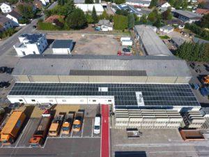 Photovoltaikanlage in Klarenthal