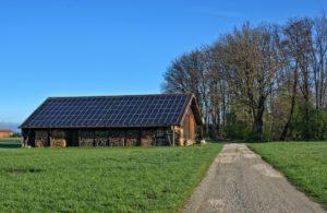 Photovoltaik Eigenverbrauch bei einem Holzhaus